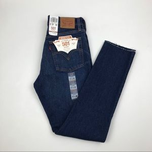 LEVI'S 501 Button Fly Skinny Jeans Size 28 Re/Done